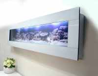Aquarium Wall Art Fish Tank Aquarium 3ft white Glass