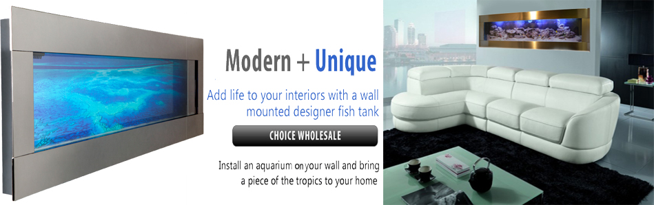 wall mounted fish tanks