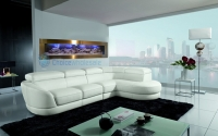 Panoramic wall hanging designer fish tanks