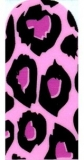 Purple Leopard Nail Art Strips Zero Drying Time Perfect Manicure
