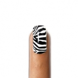 Wild Zebra Nail Art Strips Zero Drying Time Perfect Manicure